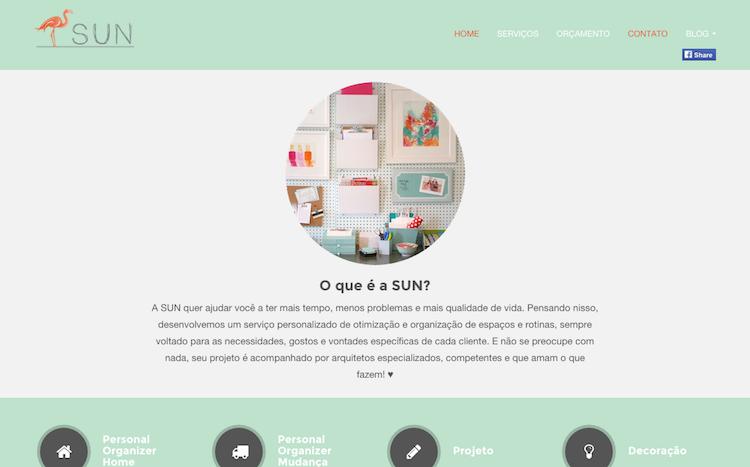 Sun Arquitetura Web Site